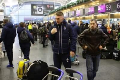 «Динамо» отправилось на первый сбор в Испанию