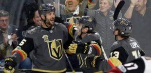 НХЛ: «Вегас» обошел «Тампу», «Вашингтон» уступил «Филадельфии»