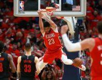 НБА: «Голден Стейт» и «Нью-Орлеан» повели 3:0 в сериях