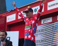 Украинский велогонщик выиграл этап на престижной многодневке