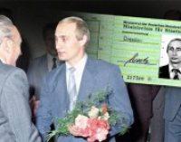В Германии нашли удостоверение Штази на имя Путина