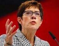 Глава партии ХДС поддержала сторонников «Северного потока – 2»