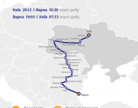Из Украины теперь можно доехать на поезде в Болгарию за 100 евро